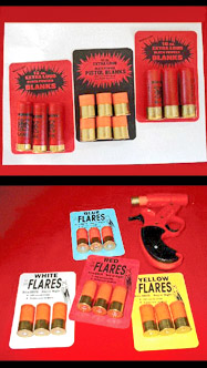 12ga Flare Pistol, Flares and Blanks