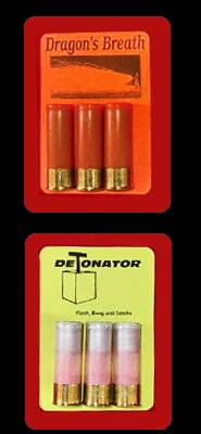 Most Popular Ammo: Dragons Breath, Detonator